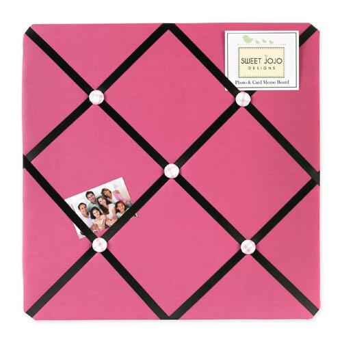 Sweet Jojo Designs Soccer Pink Memo Board