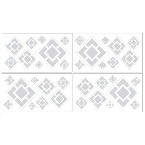 Sweet Jojo Designs Diamond Wall Decal 4 piece set