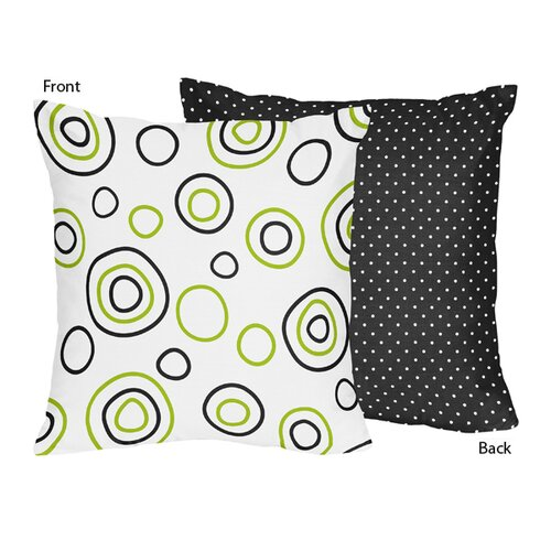 Sweet Jojo Designs Spirodot Decorative Pillow