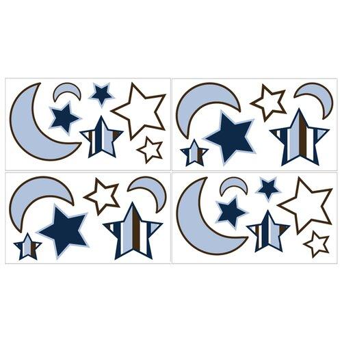 Sweet Jojo Designs Starry Night Wall Decal 4 piece set