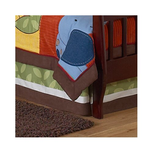 Jungle Time Toddler Bed Skirt