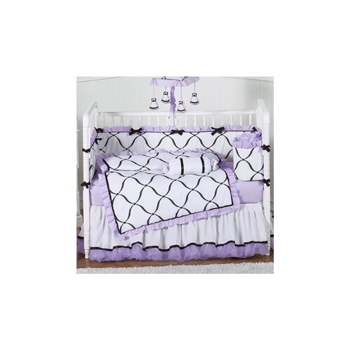 Sweet Jojo Designs Princess Purple Crib Sheet