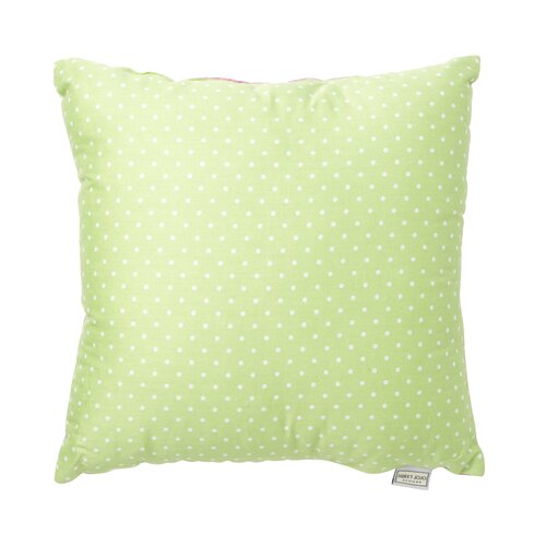 Sweet Jojo Designs Olivia Decorative Pillow with Stripe and Dot Print