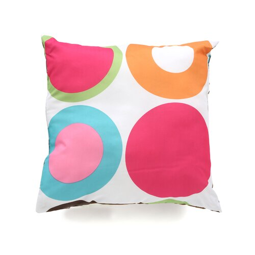 Sweet Jojo Designs Deco Dot Decorative Pillow