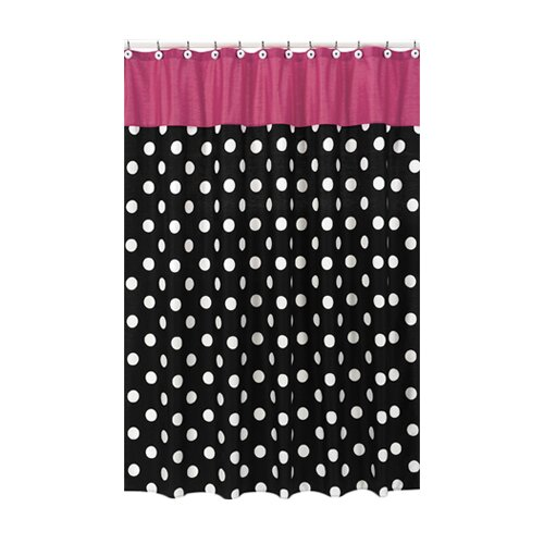 Hot Dot Shower Curtain
