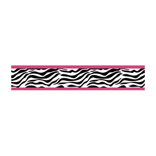 Sweet Jojo Designs Zebra Wallpaper Border