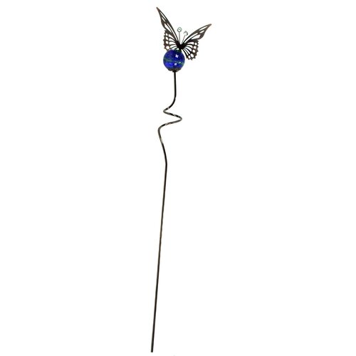 Butterfly Illuminaries Glow in The Dark Stake with Globe (Set of 4)