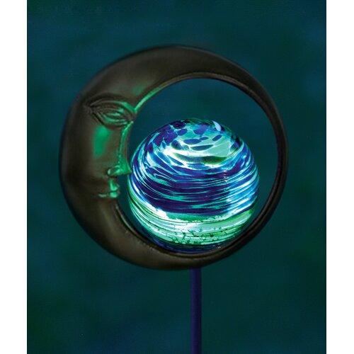 Moon Design Illuminaries Glow in The Dark Stake with Globe (Set of 4)