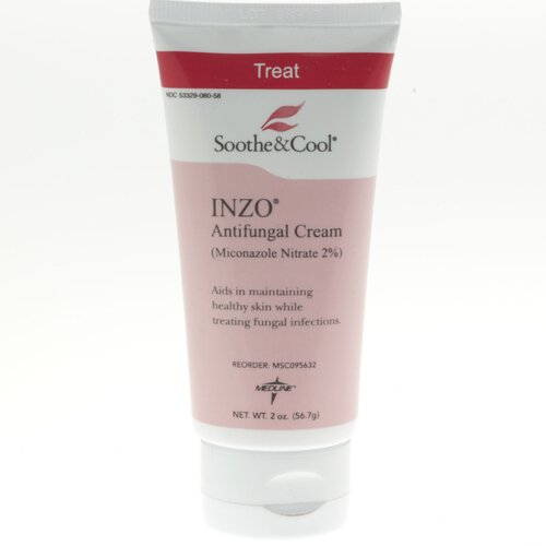 Medline INZO 5 oz. Anti-Fungal Cream Lotion