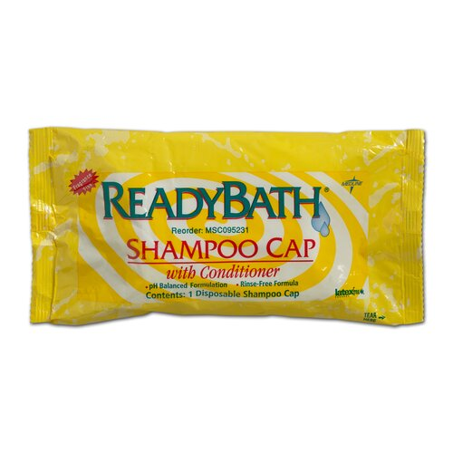 Medline Ready Bath Fragrance Free Shampoo Cap