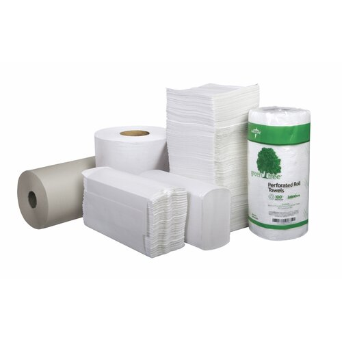 Medline Basics Perforated Towel Paper