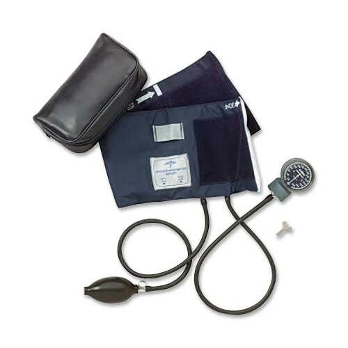 Medline Large Adult Premier Aneroid Blood Pressure Monitor