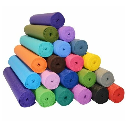 "Yoga Direct 1/4"" Deluxe Extra Thick Yoga Sticky Mat"