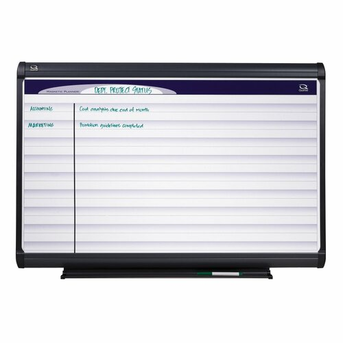 Quartet® Horizontal Format Planning System Whiteboard