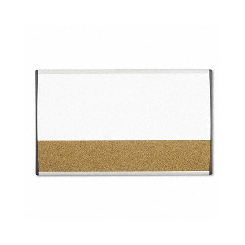 "Quartet® Magnetic Dry Erase/Cork 1' 6"" x 2' 6"" Bulletin Board"