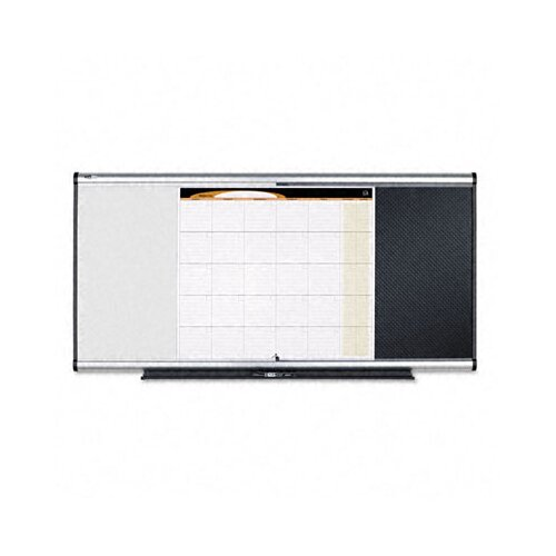 Quartet® 3-In-1 2' x 3' Bulletin Board