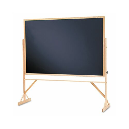 Quartet® Reversible 4' x 6' Chalkboard