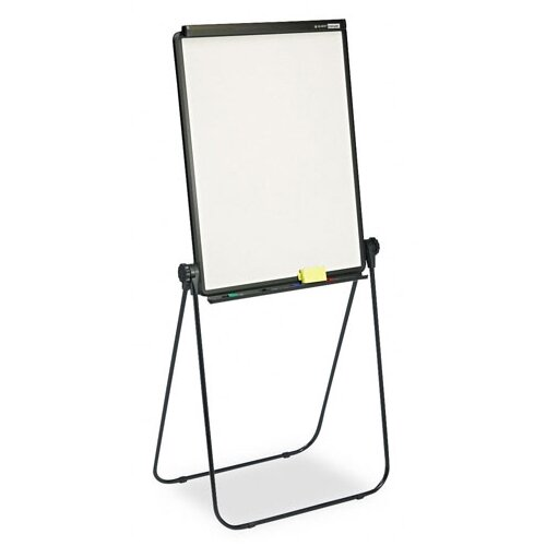 Quartet® Total Erase Presentation Dry-Erase Easel in White with Black Steel Frame