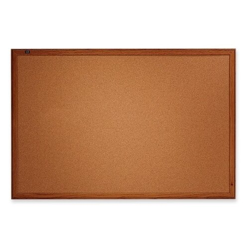 Quartet® Economy Cork Bulletin Board