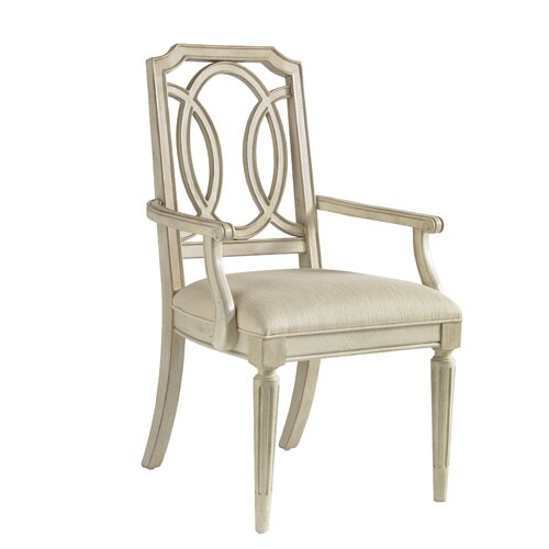 A.R.T. Provenance Arm Chair in Distressed Ivory