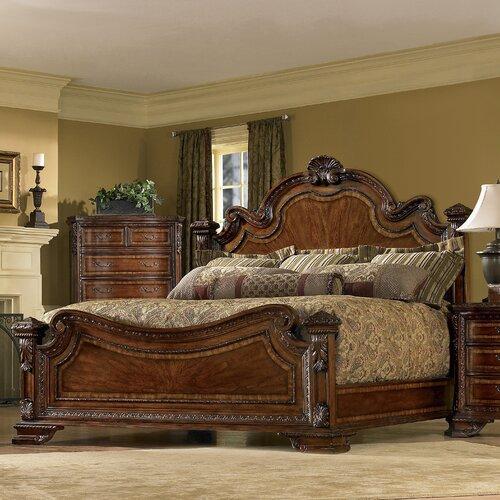 A R T Old World Estate Bedroom Set: A.R.T. Old World Estate Panel Bed & Reviews