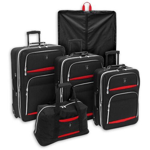 Adolfo Venice 5 Piece Luggage Set