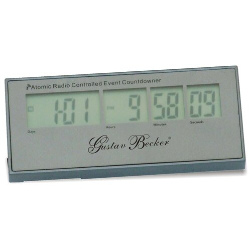 LCD Radio Controlled Clock