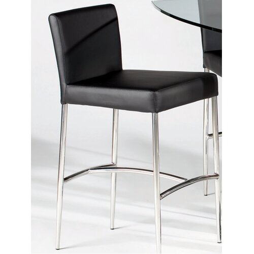 Chintaly Imports Cilla Bar Stool with Cushion