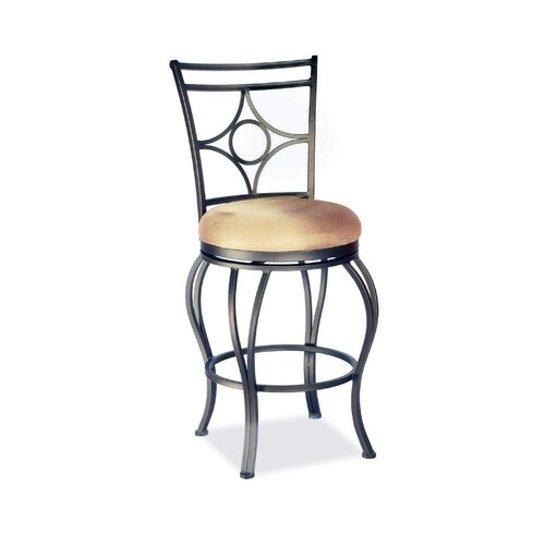 "Chintaly Imports 30"" Swivel Bar Stool with Cushion"