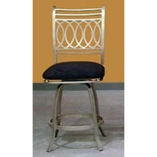 "Chintaly Imports Julia Swivel 36"" Bar Stool with Cushion"