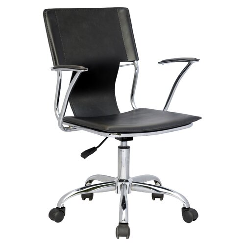 Chintaly Imports Mid Back Office Chair with Swivel