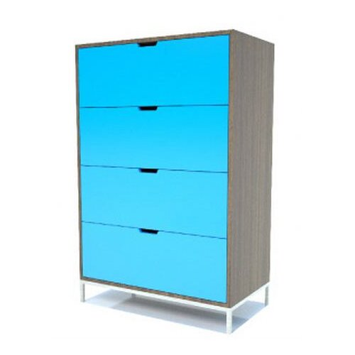 EK Living DR1 4 Drawer Storage Chest