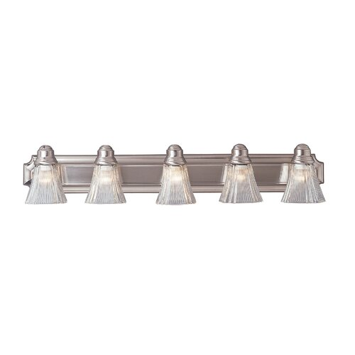 TransGlobe Lighting 5 Light Vanity Light