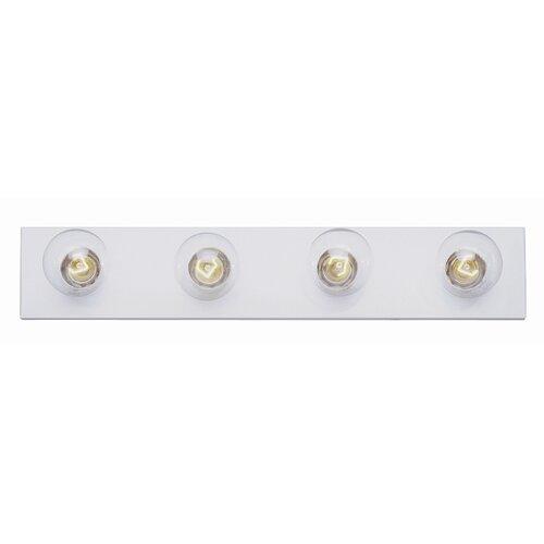 TransGlobe Lighting Builder Basic 4 Light Bath Bar