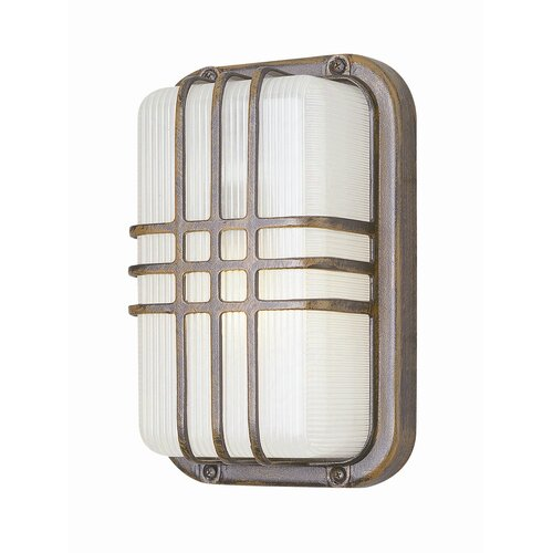 TransGlobe Lighting Outdoor 1 Light Wall Sconce
