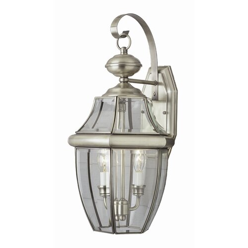 TransGlobe Lighting Outdoor 2 Light Wall Lantern
