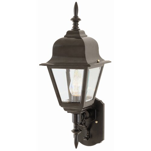TransGlobe Lighting Outdoor 1 Light Wall Lantern