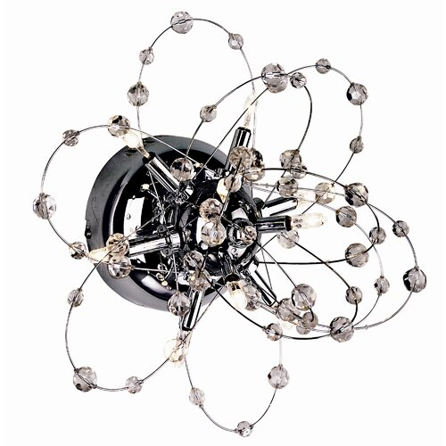 TransGlobe Lighting Turais 9 Light Crystal Galaxy Wall Sconce