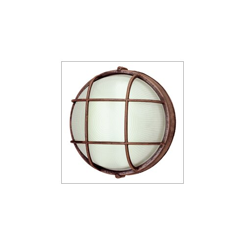 TransGlobe Lighting Outdoor 1 Light Fluorescent Wall Sconce