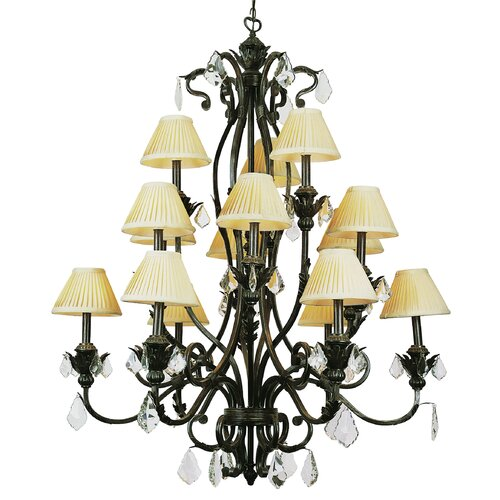TransGlobe Lighting 15 Light Chandelier