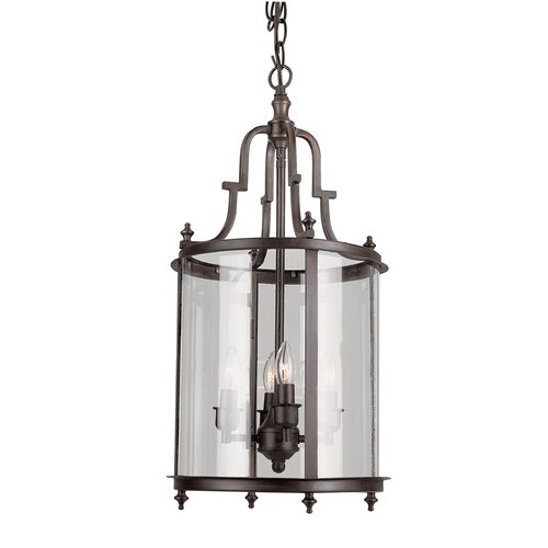 TransGlobe Lighting 3 Light Foyer Pendant