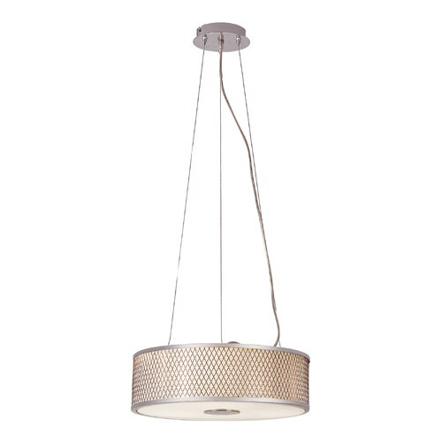 Diamond Grill 3 Light Pendant