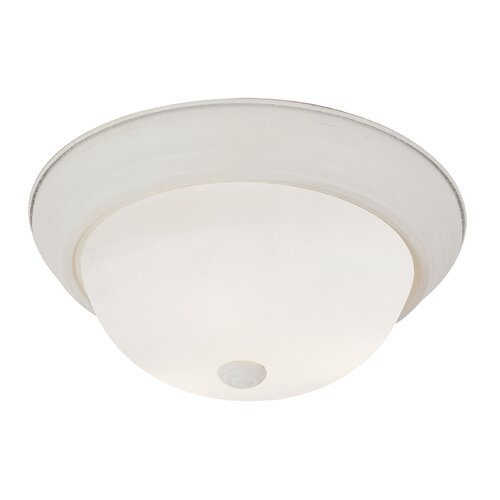 Button 2 Light Flush Mount