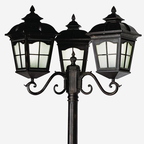 "TransGlobe Lighting Outdoor 3 Light 30"" Post Lantern Set"