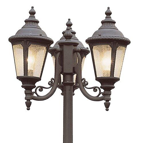 Transglobe Lighting Outdoor 3 Light 79 Quot Post Lantern Set