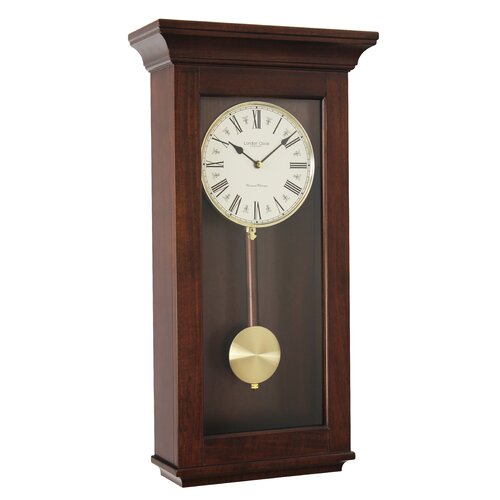 London Clock Company Traditional Pendulum Wall Clock