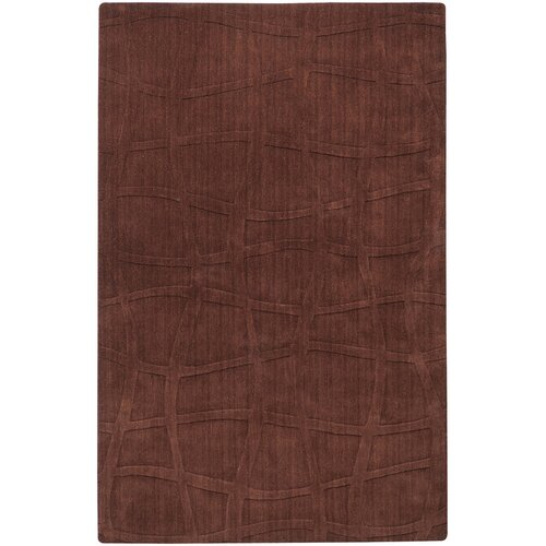 Candice Olson Rugs Sculpture Chocolate Checked Rug