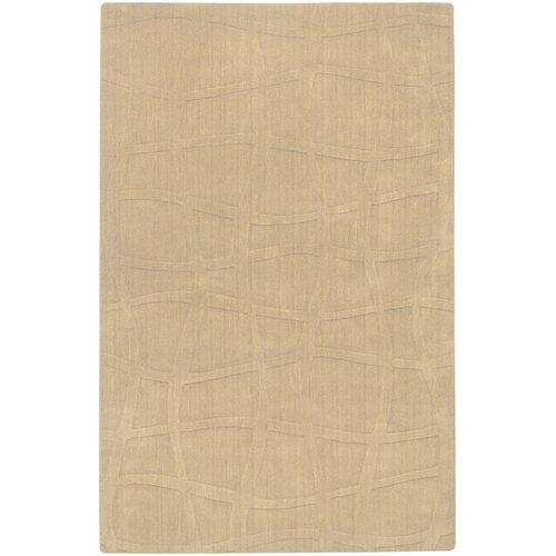 Candice Olson Rugs Sculpture Beige Checked Rug