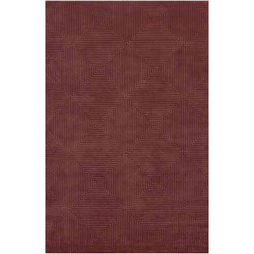 Luminous Raspberry Rug