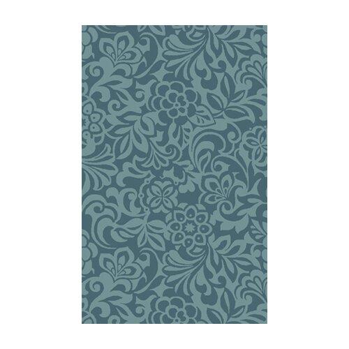 Candice Olson Rugs Modern Classics Teal Blue/Stormy Sea Rug